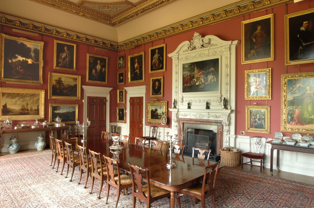 Dining Room at Elton Hall and Gardens