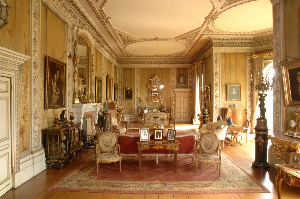 Drawing Room at Elton Hall and Gardens