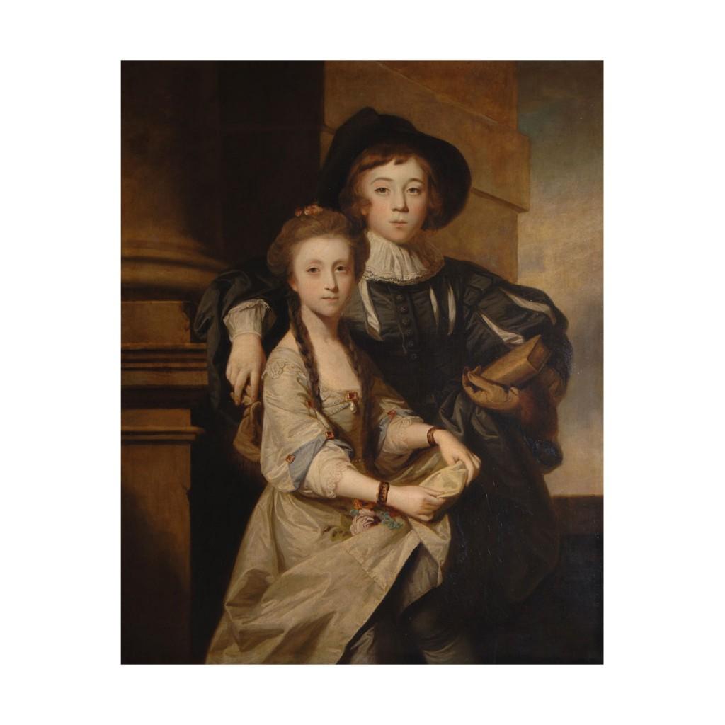 John-Joshua-and-sister-by-Joshua-Reynolds
